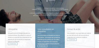 Prise de RDV en ligne etiopathe Paris